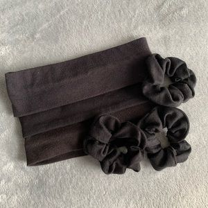 Assorted scrunchie and hairband set